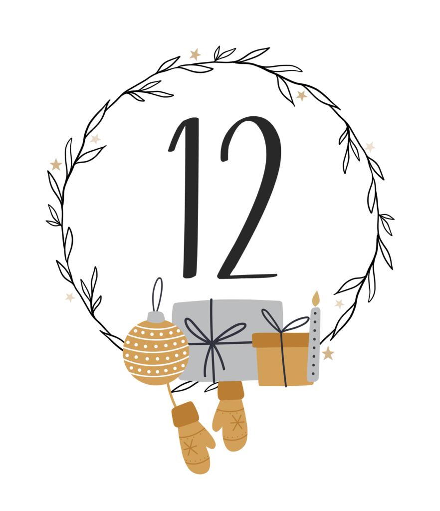 Kreativ-Adventskalender #12: Einfache Weihnachtsdeko aus Salzteig