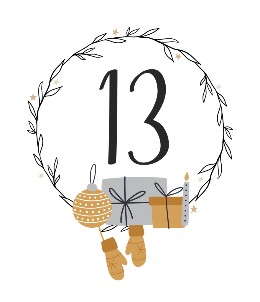 Kreativ Adventskalender #13: Weihnachts-Dessert: Apfel-Spekulatius Tiramisu