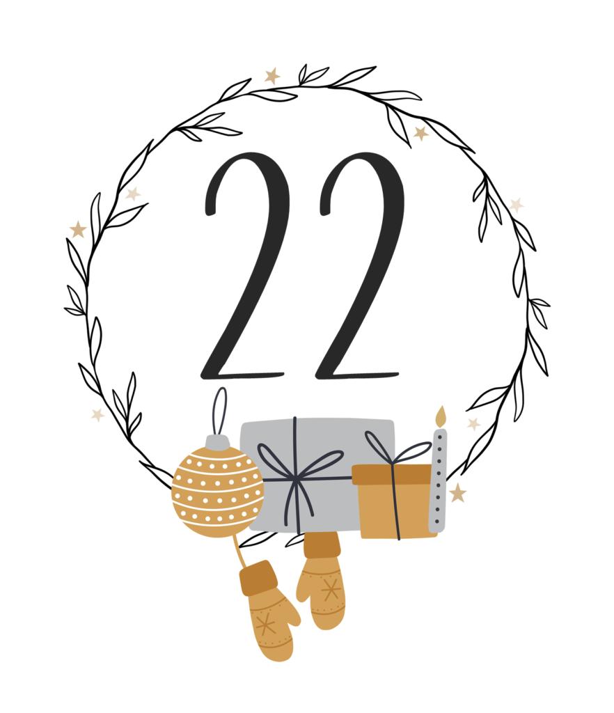 Kreativ-Adventskalender #22: Recycelte Tannenbäumchen aus leeren Teelichthülsen