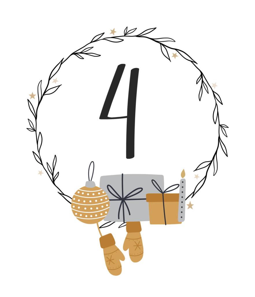 Kreativer Adventskalender Nr. 4: Geschenkglas + Bienenwachskerzen selbst einschrauben