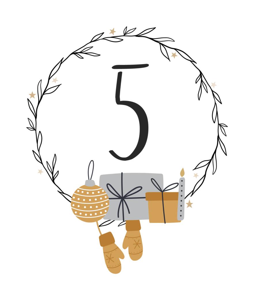 Kreativ-Adventskalender #5: Geflochtener Korb aus Modelliermasse