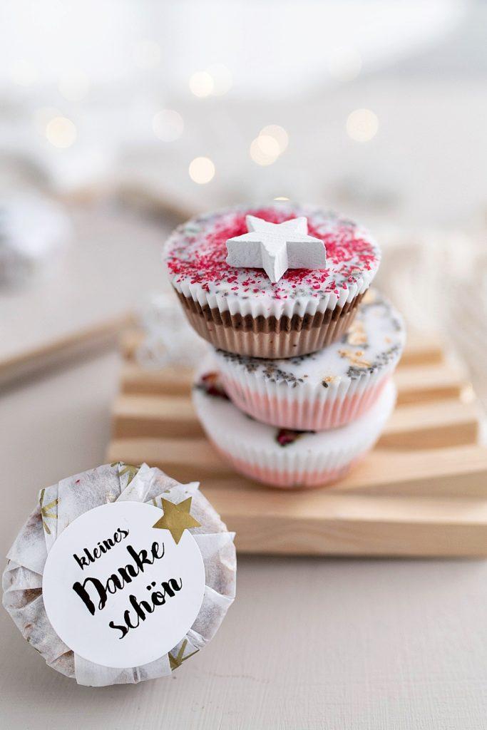 Kreativ-Adventskalender #11: DIY Seifen in Muffinform gießen
