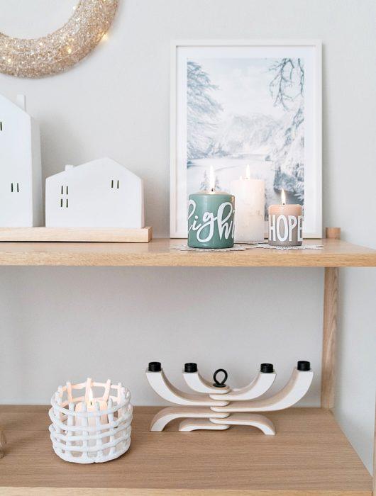 DIY Kerzen beschriften