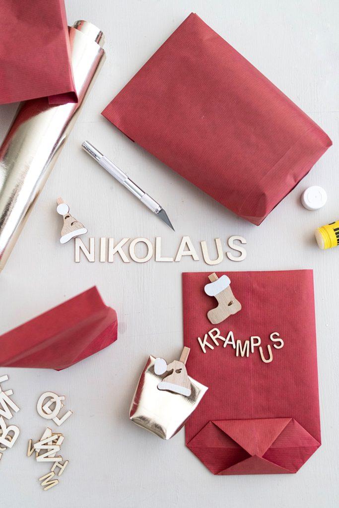 Kreativ-Adventskalender #6: Last-Minute Nikolaus-Tüten zum Befüllen