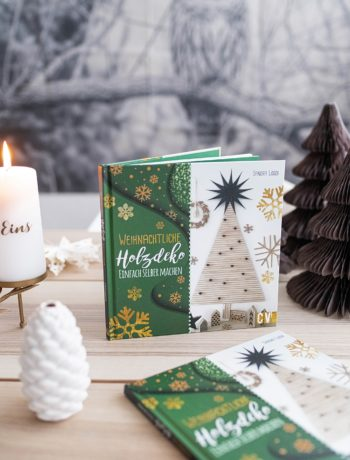 Buchtipp: Weihnachtliche Holzdeko einfach selber machen von Sandra Losch