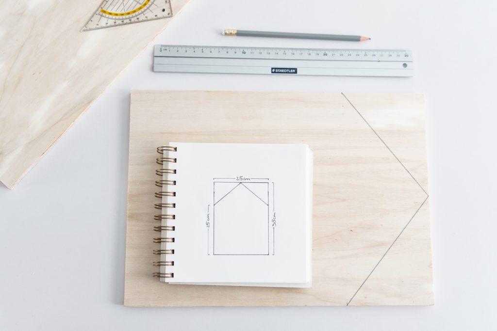 DIY|Mini-Gewächshaus aus Holz und Acrylglas für die Wohnung selber bauen