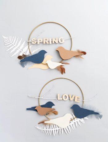 DIY Papiervögel