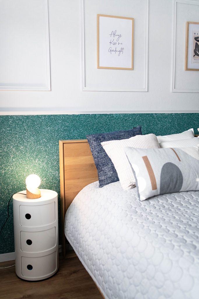 Wandgestaltung mit Silk Plaster und DIY-Inspiration für Selbermacher