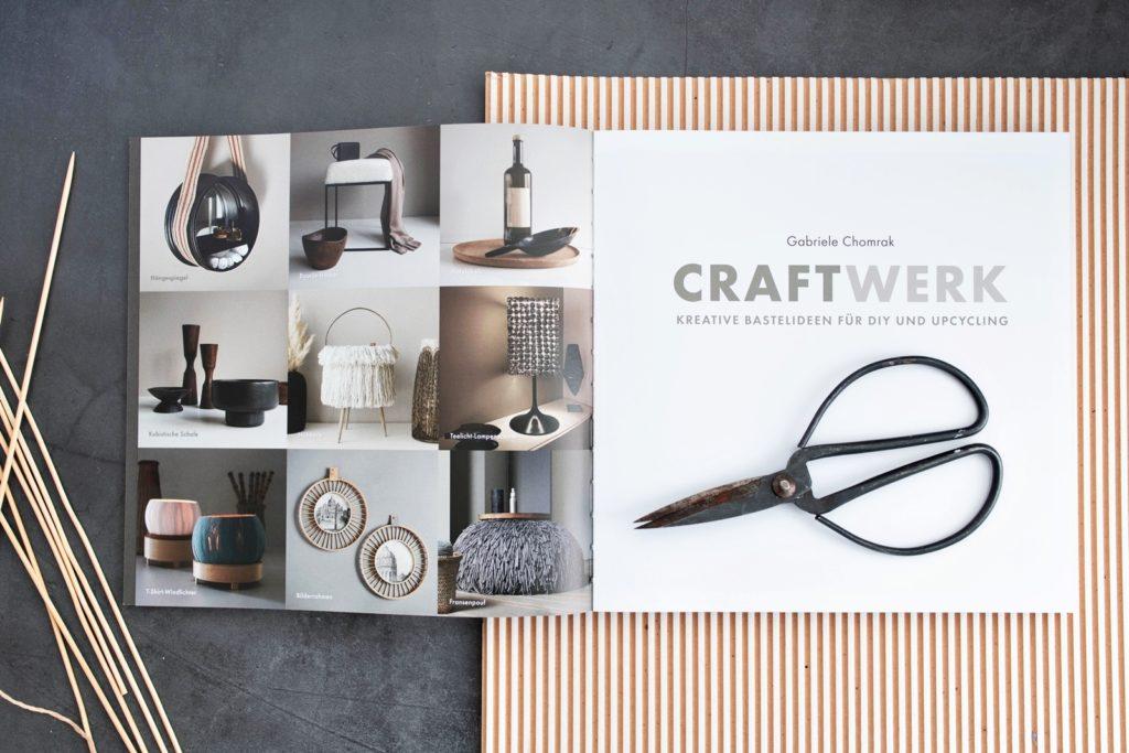 Buchtipp | CraftWerk – kreative Bastelideen für DIY und Upcycling: Schöner wohnen mit stilvollen Deko-Accessoires