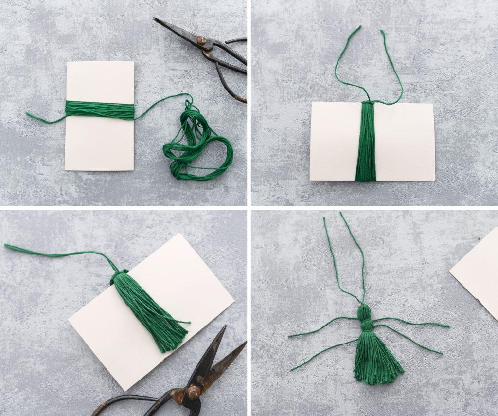 DIY Quaste in 4 einfachen Schritten selber machen