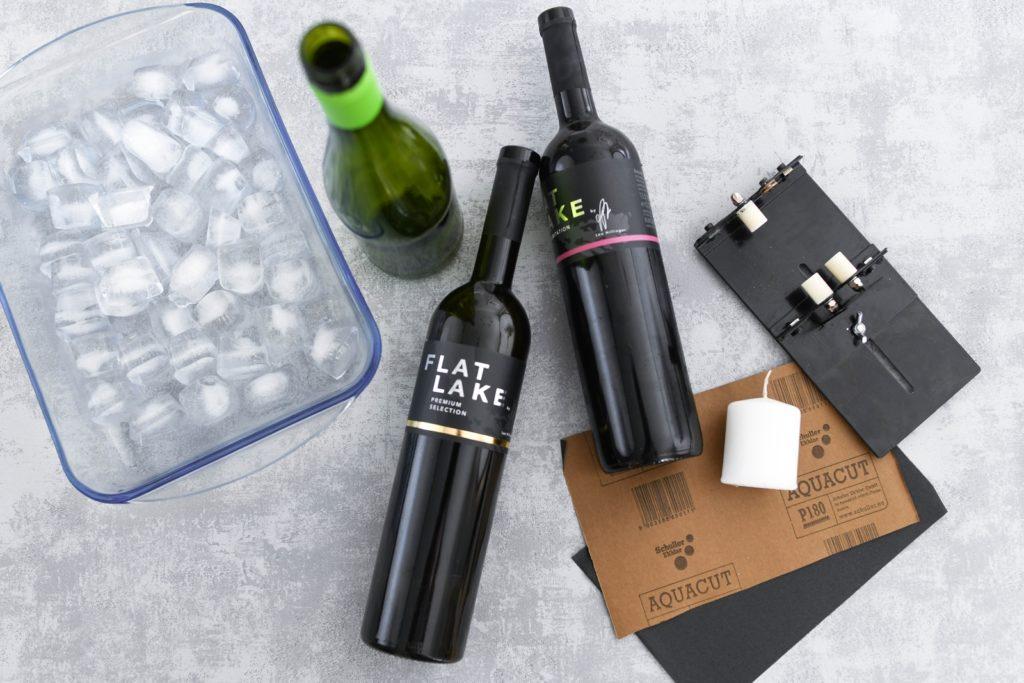 Upcycling-Idee: Trinkgläser aus Altglas